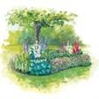 Отдых в домиках со сруба - иконка «сад» в Архипо-Осиповке